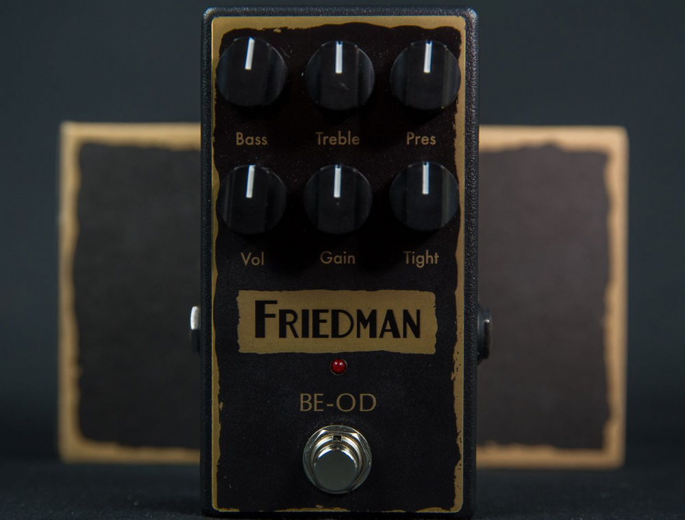 Friedman BE OD Overdrive Pedal